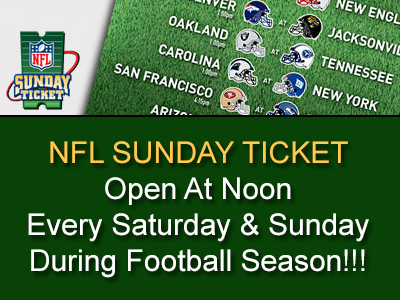 NFL Sunday Ticket At Brews Brothers